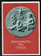 """Deutsches Reich / 1939 / Sonderpostkarte """"Reichsparteitag"""" ** (18208) - Allemagne"""