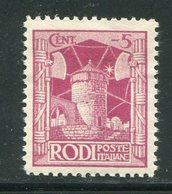 EGEE- Rhodes- Y&T N°15- Neuf Avec Charnière * - Egée (Rodi)