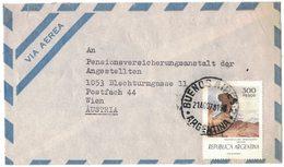 "RB36   Argentina 1978 - 300 P. "" MONDTAL "" ISCHIGUALASTO, SAN JUAN - Storia Postale"
