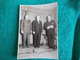 PHOTO ORIGINALE.VINTAGE..ANCIENS COMBATTANTS.UNION DES MEDAILLES.NON SITUEE. - 1939-45
