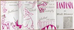 Vieux Papiers > Programmes Fantasia De Walt Disney - Programs