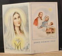 MONDOSORPRESA, (ST 527)SANTINO CALENDARIETTO, ANNODOMINI 1955 - Calendarios