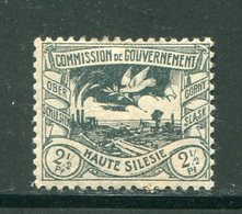 HAUTE SILESIE- Y&T N°31- Neuf Avec Charnière * - Silésie (Haute & Orientale)