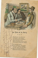 Lapidaire Bijoutier Pierre Precieuse  Le Coq Et La Perle Libraire Manuscrit Fable - Autres