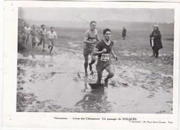 Vincennes - Cross Des Champions - Un Passage De DOLQUES - 19 X 14 Cm - Deportes