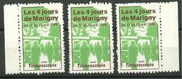 Bloc Marigny Vignette Précurseur 1988 - Bloc De Notas & Hojas