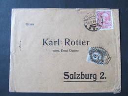 BRIEF Graz - Salzburg Portomarken Strafporto  /// D*38803 - Briefe U. Dokumente