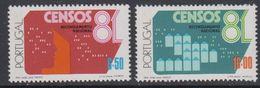 Portugal 1981 Censos 2v ** Mnh (43213D) - 1910-... Republiek