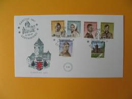 FDC Luxembourg   1967  Caritas Profit Des Oeuvres Sociales   Prince Et Princesse  N° 710 à 715 - FDC