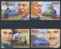 Bequia 1986 Transport, Railway, Trains, Locomotives MNH - Trains
