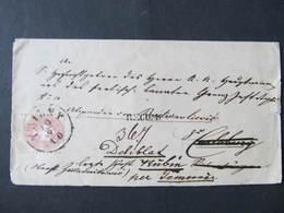 R-BRIEF  Trient - Deliblat Kubin Carlsburg  /// D*38807 - Briefe U. Dokumente