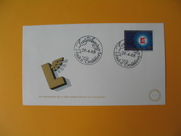 FDC Luxembourg   1968  20è Anniversaire De La Foire Internationale  N°  722 - FDC
