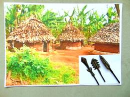Pointes De Fleches Afrique - Art Africain