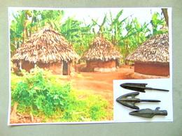 Pointes De Fleches Afrique - African Art