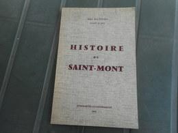 LORRAINE - VOSGES, HISTOIRE DU SAINT MONT, ABEL MATHIEU  1971 - Lorraine - Vosges