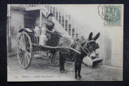 FRANCE - Carte Postale - Vichy - Laitière Bourbonnaise ( Attelage à âne ) - L 32679 - Vichy
