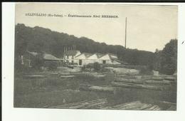 70 - Haute Saone - Aillevillers - Etablissement Abel Bresson - Scierie - - Autres Communes