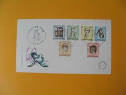 FDC Luxembourg   1968  Caritas Profit Des Enfants Handicapés N° 729 à 734 - FDC