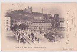 CPA - 19. LYON - Le Pont Tilsitt Et Le Coteau De Fourvière - Lyon 1