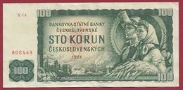Tchécoslovaquie100 Korum 1961 Dans L 'état - Czechoslovakia