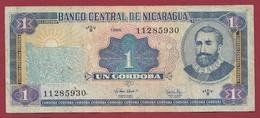 Nicaragua 1 Cordoba 1995 Dans L 'état - Nicaragua