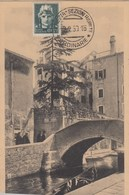 VENEZIA-PONTE DELLA FRESCADA-CARTOLINA NON VIAGGIATA -OBLITERATA IL 2-2-1930 - Venezia (Venice)
