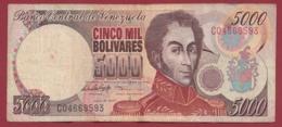 Venezuela 5000 Bolivares Du 16/06/1997 Dans L 'état - Venezuela