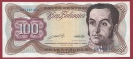 Venezuela 100 Bolivares Du 16/03/1989 Dans L 'état - Venezuela