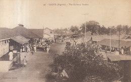 Nigéria : La Gare : Railway Station   ///   REF  JUIN .19  / N° 8934 - Nigeria