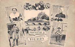 Berry Scène Ou Types Ou Au Pays    36        Un Souvenir De. 4 Minivues         (voir Scan) - Frankreich