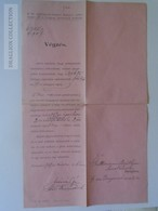 KA409.9 Hungary Budapest - Judaica - Guttman Náthán - 1907 - Unclassified