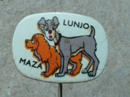 LIST 115 - CHIEN, DOG, LUNJA I MAZA, DISNEY, Lady And The Tramp - Animals