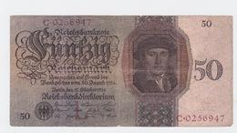 Billet De 50 Reischmark Pick 177  Du 10-10-1924 - [ 3] 1918-1933: Weimarrepubliek