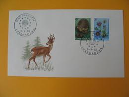 FDC Luxembourg   1970  Conservation De La Nature  N° 754 Et 755 - FDC