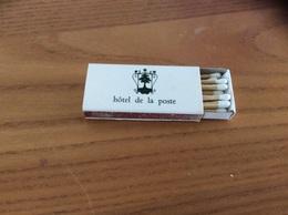 """Boîte D'allumettes SEITA Type 500 """"hôtel De La Poste - BEAUNE (21)"""" - Zündholzschachteln"""