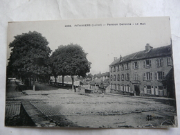 CPA 45 LOIRET - PITHIVIERS : Pension Darenne  - Le Mail - Pithiviers