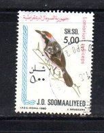 APR850 - SOMALIA 1980 , Yvert N. 257  Usato . - Somalia (1960-...)