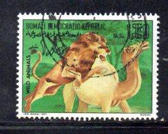 APR1174 - SOMALIA 1971 , Yvert N. 137  Usato . Leone E Dromedario - Somalia (1960-...)