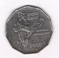 2 RUPEES 2000 INDIA /4823/ - Inde