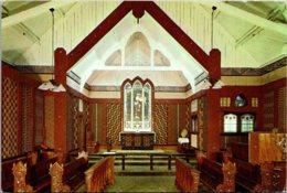 New Zealand Rotorua Ohinemutu St Faith's Anglican Church Sanctuary - New Zealand