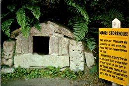 New Zealand Rotorua The Buried Village Old Maori Storehouse - New Zealand