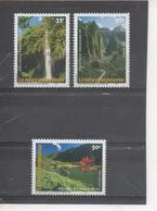 POLYNESIE Française - Nature Polynésienne - Sites : Cascade Vaiharuru (Popenoo), Lac Vaihiria (Tahiti), Vallée De Héakan - French Polynesia