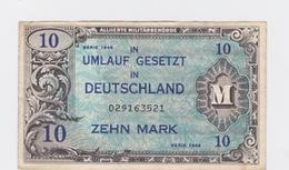 Billet De 10 Mark Pick 194  De-1944 - [ 3] 1918-1933 : República De Weimar