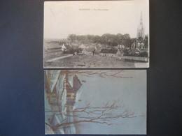 Belgien 1918, 1938- Militärpost Carte Postale Rexpoede, Neujahrswünsche Nach Zürich - Militares (Sellos M)