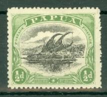 British New Guinea: 1910/11   Lakatoi    SG75     ½d   MH - Papua New Guinea