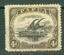 British New Guinea: 1910/11   Lakatoi    SG79     4d   Used - Papua New Guinea