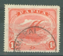 British New Guinea: 1911/15   Lakatoi    SG85     1d  Rose-pink    Used - Papua New Guinea