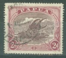 British New Guinea: 1916/31   Lakatoi    SG96b     2d   Brown Purple & Claret  Used - Papua New Guinea