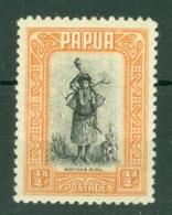 Papua New Guinea: 1932/40   Pictorial    SG130a    ½d    Black & Buff   MH - Papua New Guinea