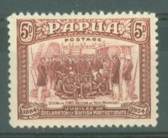 Papua New Guinea: 1934   50th Anniv Of Declaration Of British Protectorate   SG149     5d   MH - Papua New Guinea